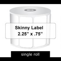 Zebra Labels 225 X 075 Skinny