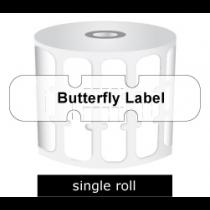 Zebra Labels Butterfly Gap