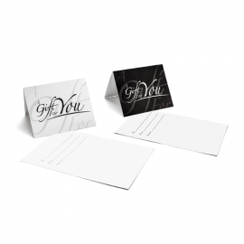 Gift Card Carrier Gift For You Black - 250pk