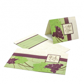 Gift Card Carrier Grapevine - 250pk