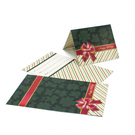 Gift Card Carrier Red Bow- 250pk