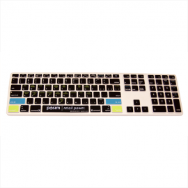 POSIM EVO - Thin Keyboard - Wireless Keyboard Square Function Keys