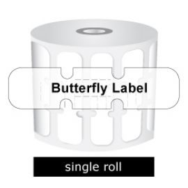 Zebra Labels Butterfly Gap